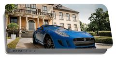 Jaguar F-type - Blue - Villa Portable Battery Charger