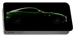 Jaguar F-type - Side View Portable Battery Charger