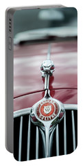 Jaguar Grille Portable Battery Charger by Helen Northcott