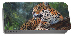Jaguar In Tree Portable Battery Charger