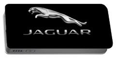 Jaguar Logo Portable Battery Charger