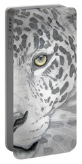 Portable Battery Charger featuring the drawing Jaguar by Mayhem Mediums