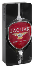 Jaguar Medallion Portable Battery Charger