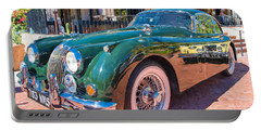 Portable Battery Charger featuring the photograph Jaguar Xk Classic by Dan McManus