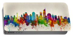 Jakarta Skyline Indonesia Bombay Portable Battery Charger