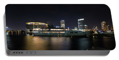 Portable Battery Charger featuring the photograph Jamaica Bay by Randy Scherkenbach