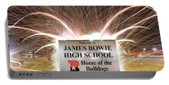 James Bowie High School Portable Battery Charger