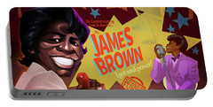 James Brown Portable Battery Charger