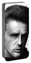 James Dean Portable Battery Charger by Greg Joens
