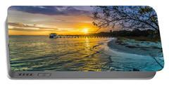 James Island Sunrise - Melton Peter Demetre Park Portable Battery Charger