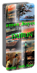 James Joyce's Dublin Portable Battery Charger