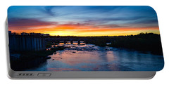 James River Sunset Portable Battery Charger