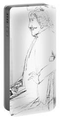 James Whistler's Portrait Portable Battery Charger
