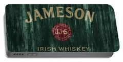 Jameson Irish Whiskey Barn Door Portable Battery Charger