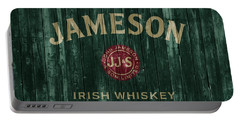 Jameson Irish Whiskey Barn Door Portable Battery Charger