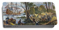 Jamestown: Arrival, 1607 Portable Battery Charger