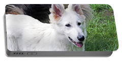Janie As A Pup Portable Battery Charger