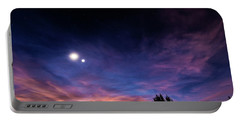 January 31, 2016 Sunset Portable Battery Charger by Karen Slagle
