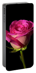January Rose Portable Battery Charger