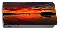 January Sunrise Onset Pier Portable Battery Charger