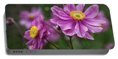Japanese Anemone Portable Battery Charger