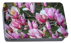 Portable Battery Charger featuring the photograph Japanese Blooms by Gregory Daley  PPSA