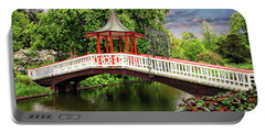Japanese Bridge Garden Portable Battery Charger