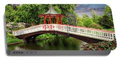 Japanese Bridge Garden Portable Battery Charger