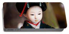 Japanese Doll Portable Battery Charger
