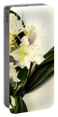 Japanese Flower Art Portable Battery Charger