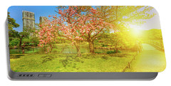 Japanese Garden Cherry Blossom Portable Battery Charger