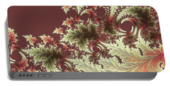 Portable Battery Charger featuring the digital art Japanese Garden Il by Susan Maxwell Schmidt