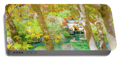 Japanese Garden Pond Portable Battery Charger