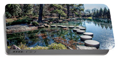 Japanese Garden Stepping Stones Portable Battery Charger