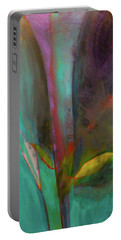 Portable Battery Charger featuring the painting Japanese Longstem  by Iconic Images Art Gallery David Pucciarelli