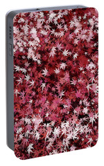 Portable Battery Charger featuring the digital art Japanese Maple Leaves by Matt Lindley