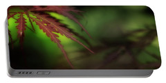 Portable Battery Charger featuring the photograph Japanese Maple by Mike Eingle