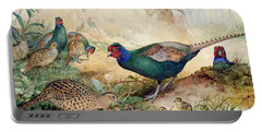 Japanese Pheasants Portable Battery Charger