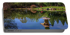 Portable Battery Charger featuring the photograph Japanese Reflections At Maymont by Rick Berk
