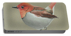 Japanese Robin Portable Battery Charger