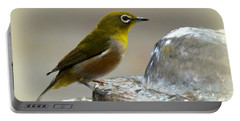 Japanese White Eye Portable Battery Charger