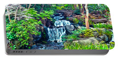 Japanese Waterfall Garden Portable Battery Charger