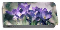 Jardin Du Viole Ill - Garden Of Purple Series Portable Battery Charger