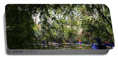 Portable Battery Charger featuring the photograph Jardin Majorelle 2 by Andrew Fare