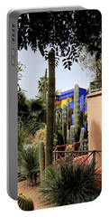 Portable Battery Charger featuring the photograph Jardin Majorelle 4 by Andrew Fare