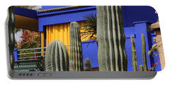 Portable Battery Charger featuring the photograph Jardin Majorelle 5 by Andrew Fare