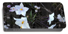 Jasmine On My Mind Portable Battery Charger