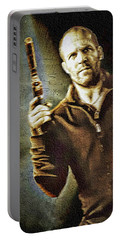 Jason Statham - Actor Painting Portable Battery Charger