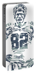 Jason Witten Dallas Cowboys Pixel Art Portable Battery Charger