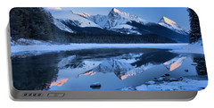 Jasper Frosty Pink Peaks Portable Battery Charger